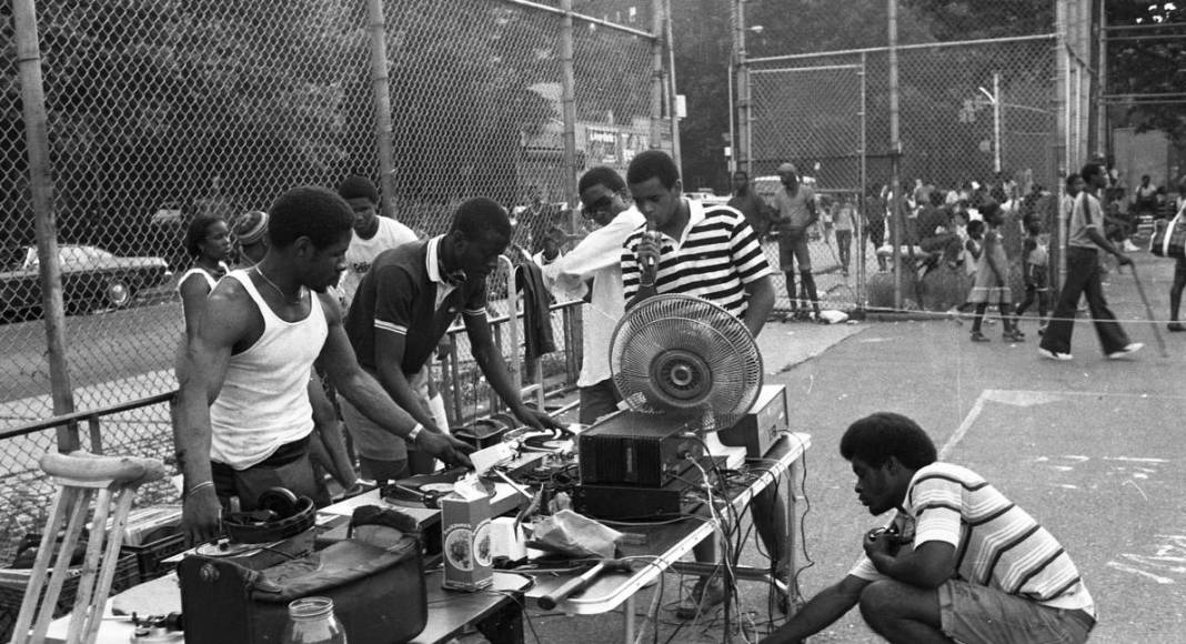 an old school block party
