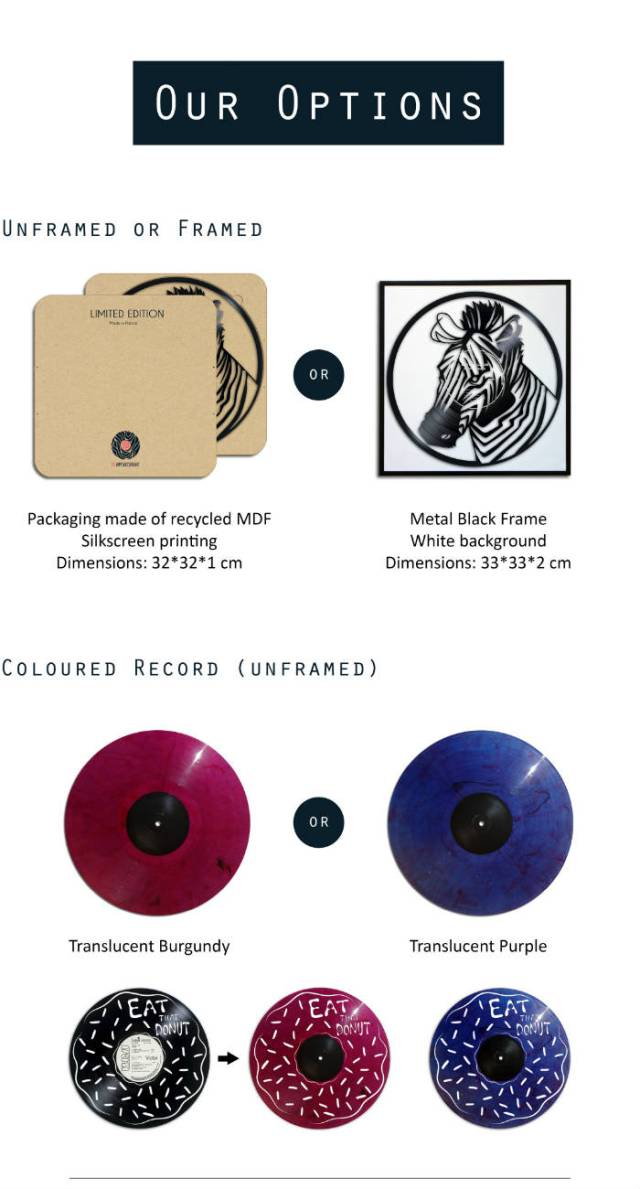 our options on records