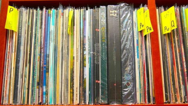 sealed records in vadim's record collection