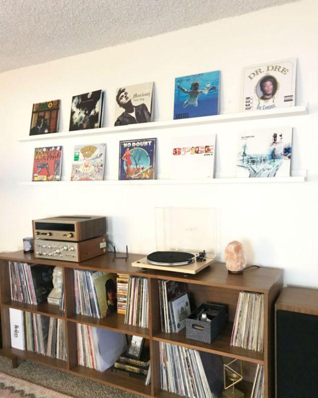 collection disques vinyles