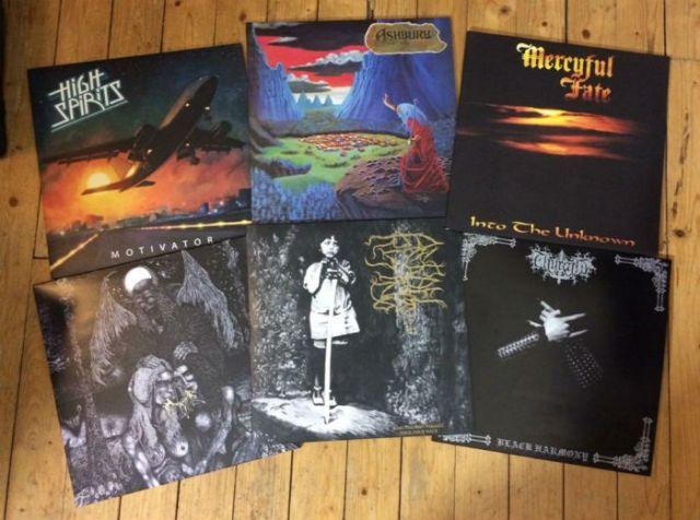 disques vinyles