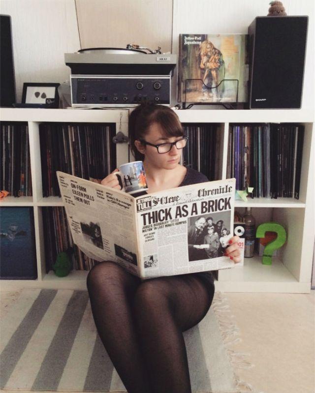 hello vinyl holds an album of jethro tull