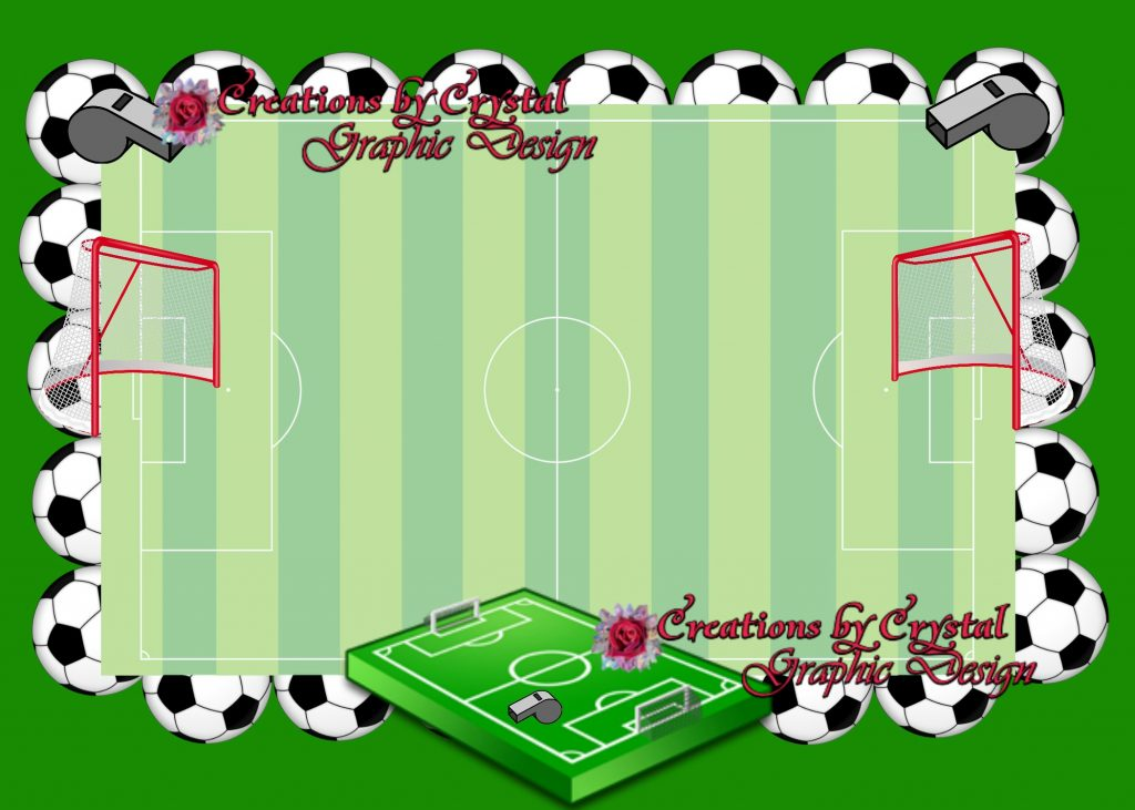 Sports Borders And Other Custom Borders Designed For Him