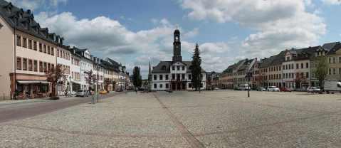 CBZ-Gruppe Rochlitz Marktplatz