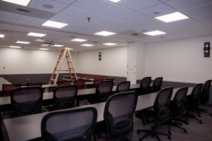 Our training center, the Albert T. Stohr University, is almost ready to go.