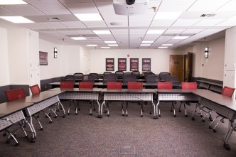 Training our team, en masse, presented logistical challenges. Not anymore. The Albert T. Stohr University Training Room has ample space.
