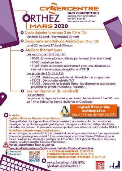 Flyer_Prog_mars_Orthez_2020
