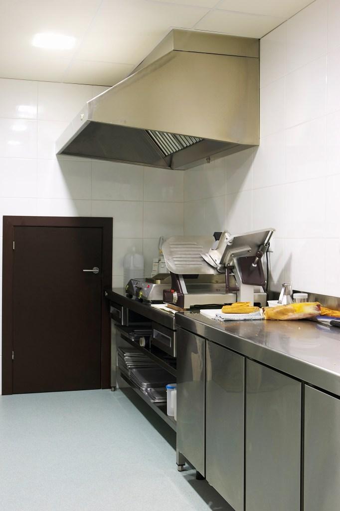 Interior cuina pastisseria.
