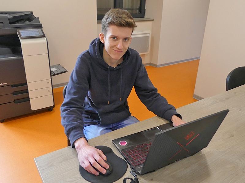 Recrutement Justin Bargiel Conseiller numérique