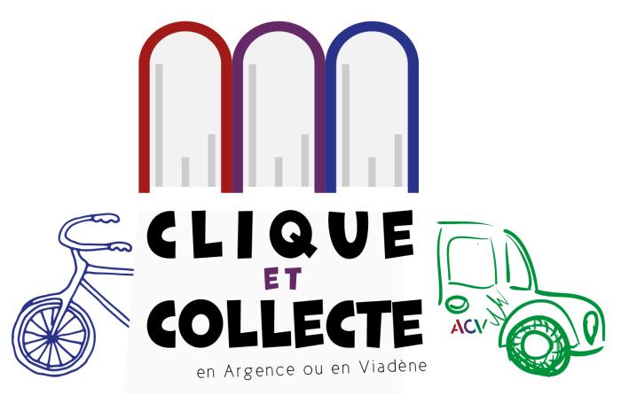 Logo final - Clique et collecte Médiathèques