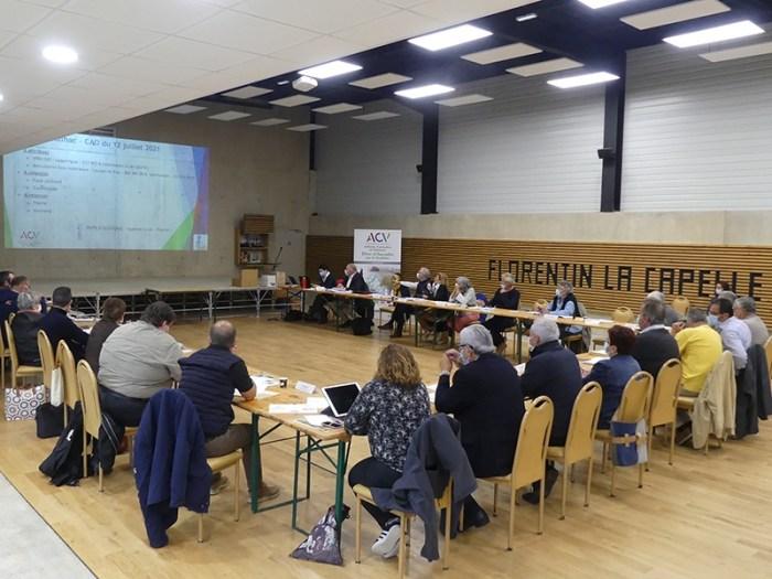 Conseil communautaire CCACV 13 juillet 2021 Florentin-la-Capelle