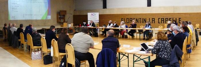 Panoramique Conseil communautaire CCACV 13 juillet 2021 Florentin-la-Capelle