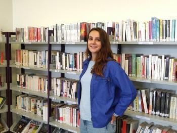 Agathe Souyri, référente lecture publique CCACV 2021