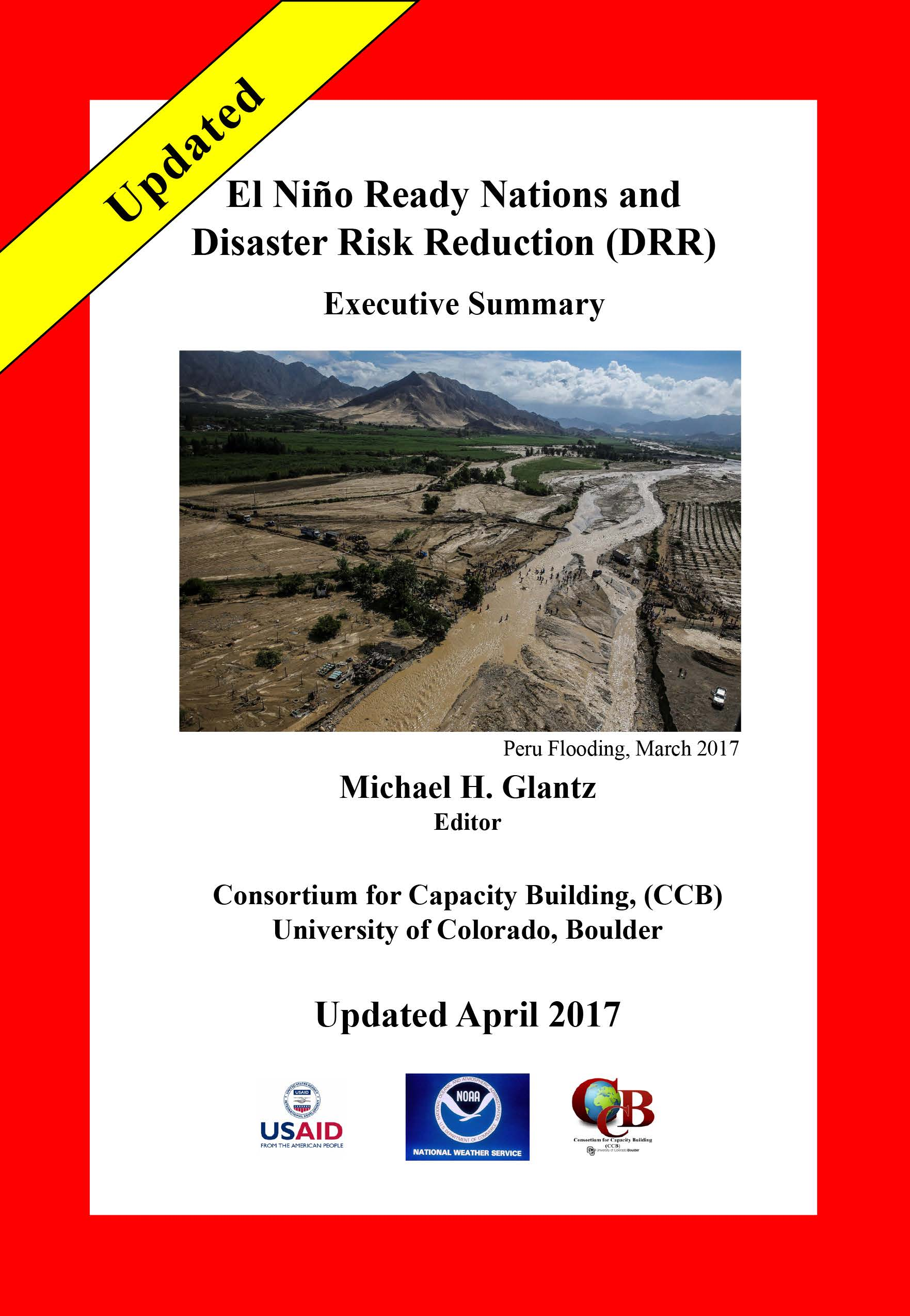 El Niño Ready Nations and Disaster Risk Deduction (DRR) Report
