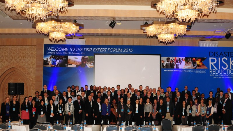 DRR Expert Forum 2015 and the Resulting Antalya Statement