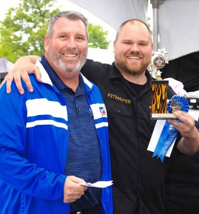 Canadian Festival of Chili & BBQ Canadian SCA Steak Competition 2016 1st Place Winner Rusty's BBQ