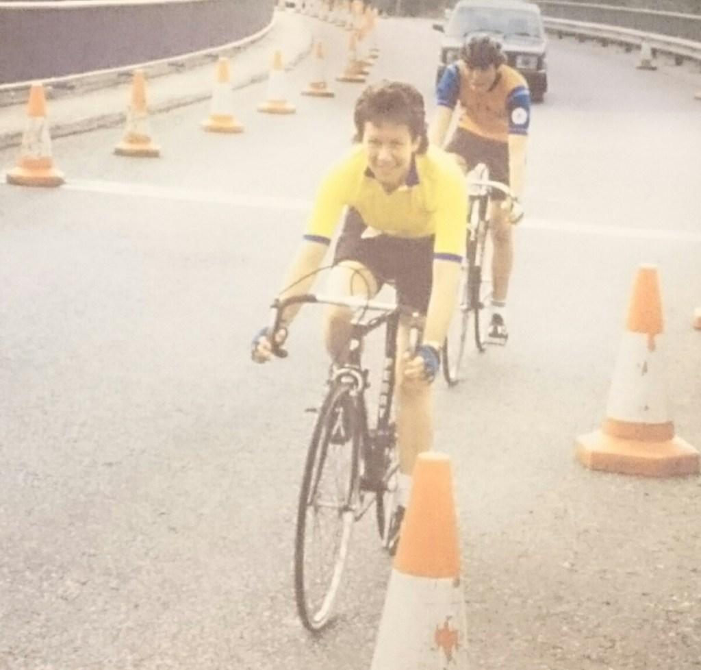 Anne Heasman Racing on Bridge Colour