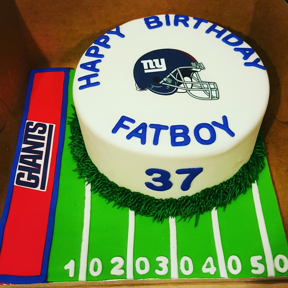 Ny Giants Birthday Cake