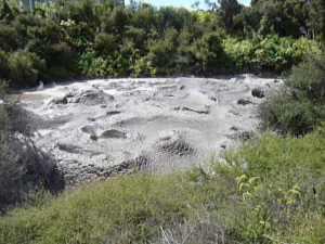 A mud spring