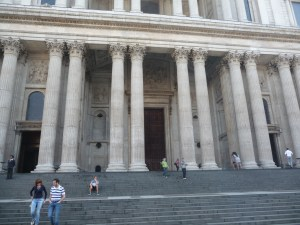 Steps at St. Paul's