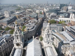 View from the top of St. Paul's