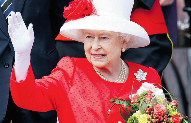 Queen Elizabeth in Canada