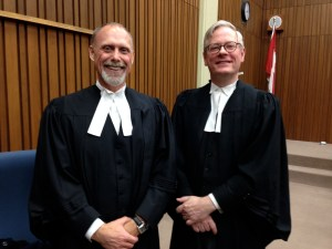 It has been my privilege be working along side TWU's lead counsel Brian Casey who I worked with over 21 years ago at the same firm in St. John's, Newfoundland