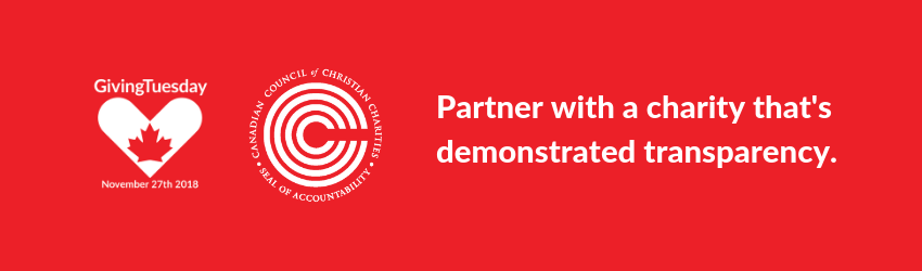 Partner with a charity that's demonstrated transparency.