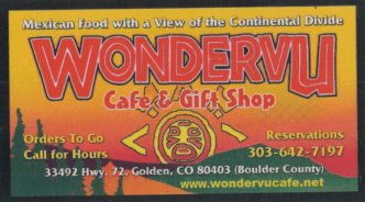 wondervu cafe