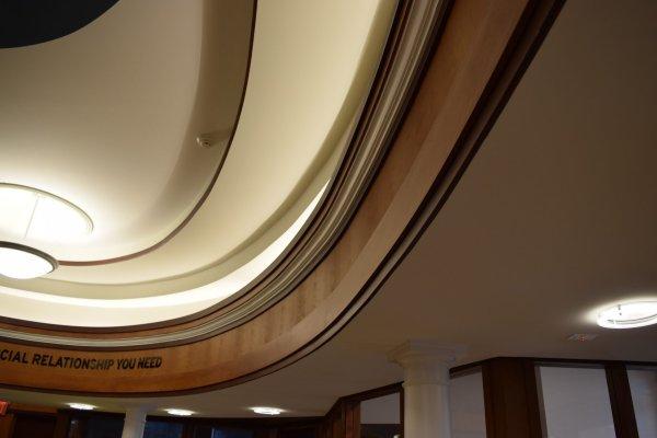11DFCU Brighton tiered ceiling