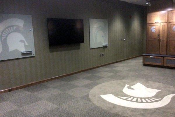 11Michigan State University golf facility, interior room