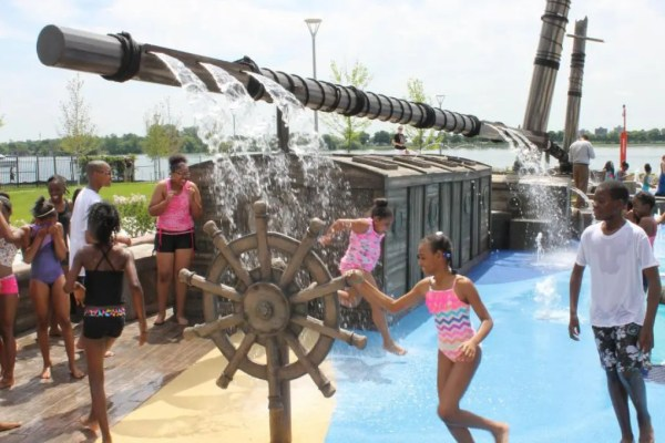 Mount Elliot Park Splash Zone
