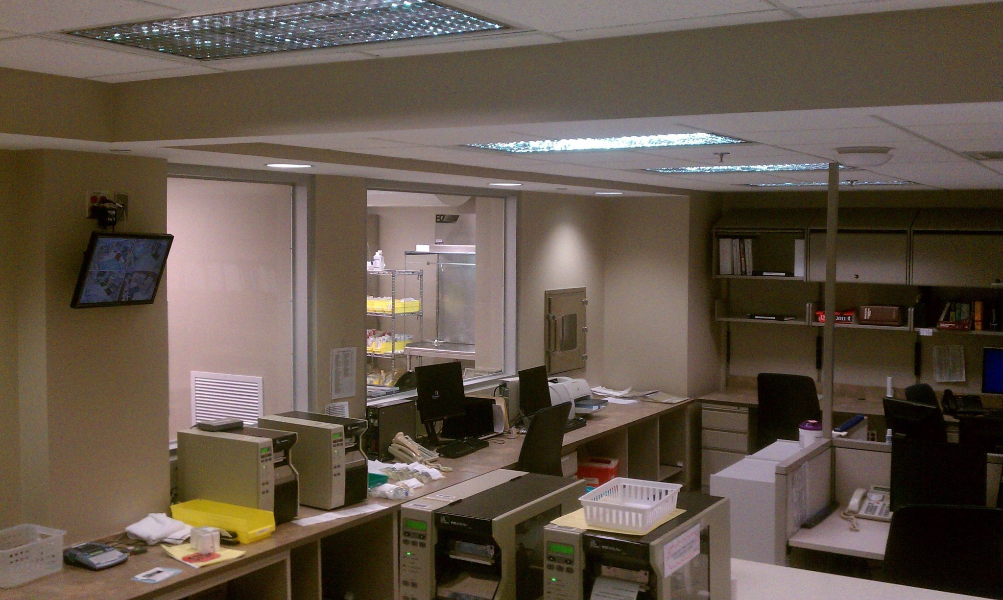 11Beaumont Hospital office interior with desks