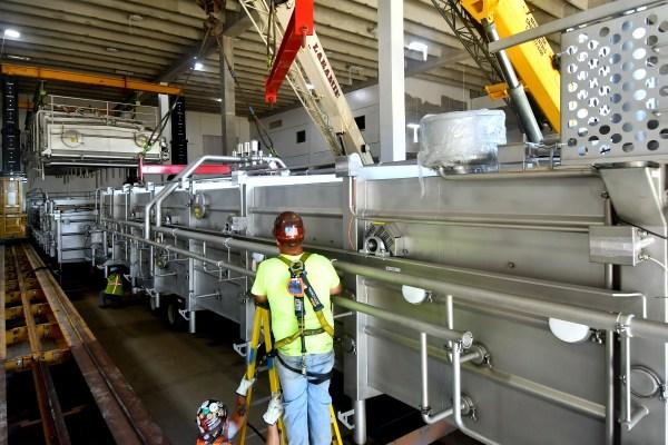 11Spartan Dairy Plant worker on ladder