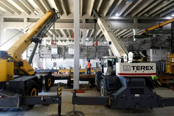 Spartan Dairy Plant machinery installation