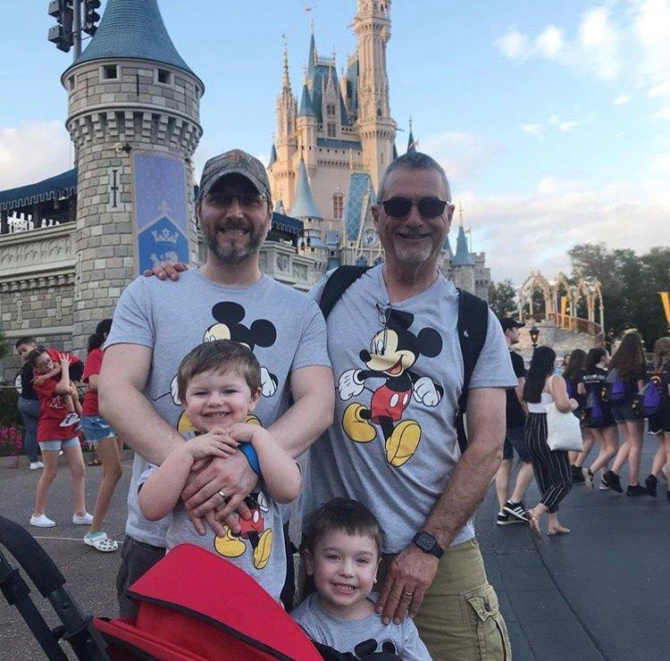 11John Taormina with children at Disney