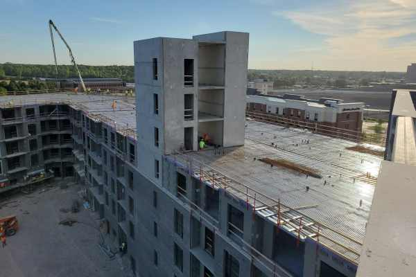 11concrete building exterior mid-construction