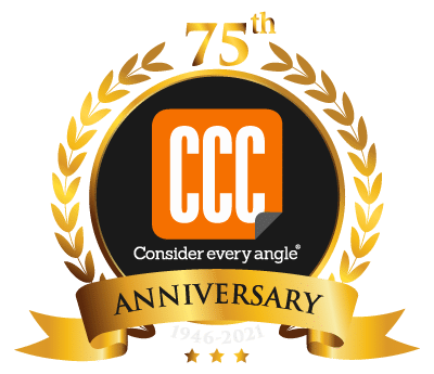 CCC 75 years square logo