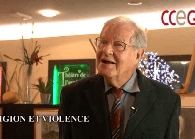 "Video PAX PRESS AGENCY Geneva / Interview du Prof. P. Secretan par Chris Peschken lors de sa présentation du 28 octobre 2014 sur le sujet de ""Religion & Violence"""