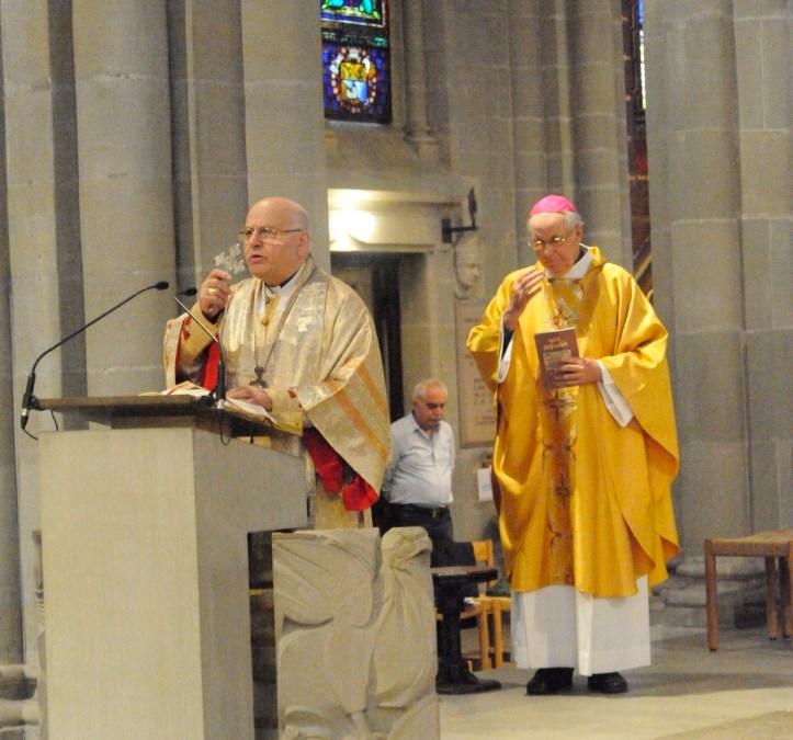 Homélie Mgr. Jean-Clément Jeanbart, Archevêque d'Alep Messe à Notre Dame de Genève du 10 octobre 2015