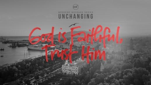 God Is Faithful: Trust Him