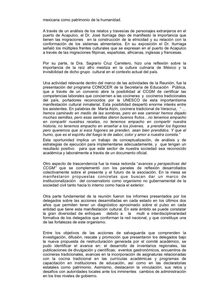 VII Reunion Nacional del Informacion la Cocia Mex2