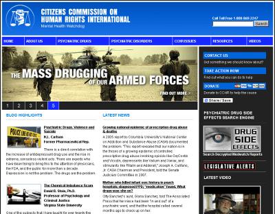CCHRInt.org homepage