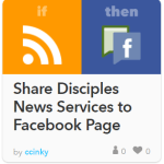 Share DNS to Facebook Page