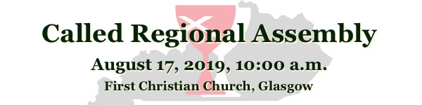 Christian Church in Kentucky called regional assembly