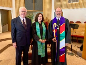 Installation of Rachel Holmes at Stamping Ground Christian Church, September 22, 2019