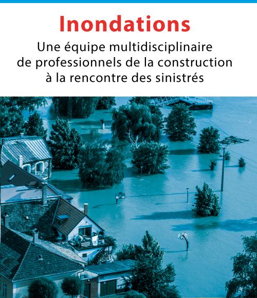Article : Une équipe multidisciplinaire de professionnels de la construction à la rencontre des sinistrés