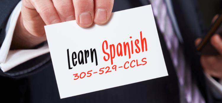 Spanish lessons in Miami
