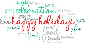 ESL words for the holidays