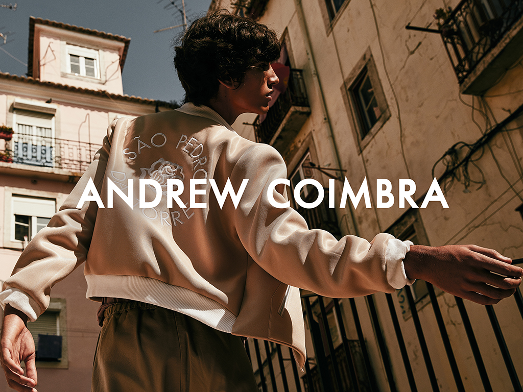 Francisco Guerrero by D. Picard for Andrew Coimbra SS/17